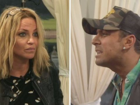 Celebrity Big Brother: Paul Danan rages at Sarah Harding as she hints he's been 'taking pills'