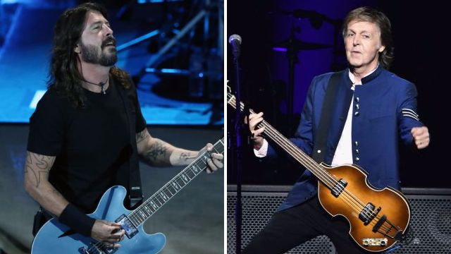 Paul McCartney to feature on the new Foo Fighters album – but he's not the big name Dave Grohl's been teasing