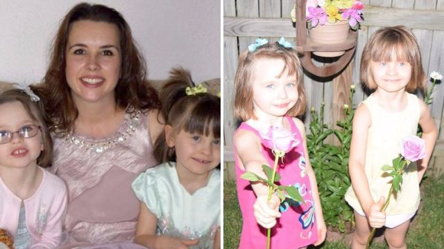 Mum 'shoots twin daughters and then herself in murder-suicide'