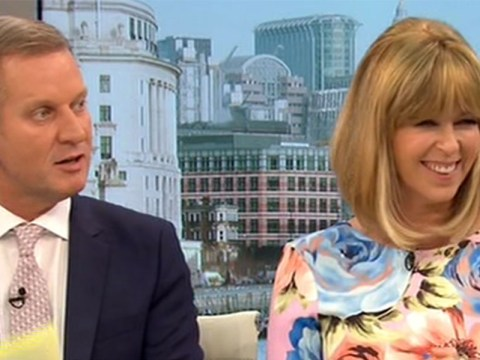 Jeremy Kyle asks Kate Garraway if she could be 'a hooker' in awkward GMB rugby chat