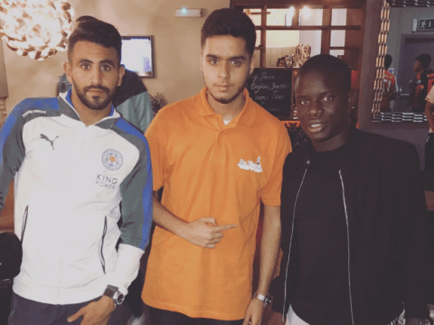 N'Golo Kante meets Chelsea and Arsenal target Riyad Mahrez for dinner amid transfer speculation