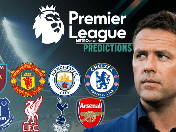 Michael Owen's Premier League predictions, including Arsenal v Leicester