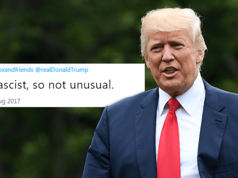 Donald Trump just agreed that he's a fascist