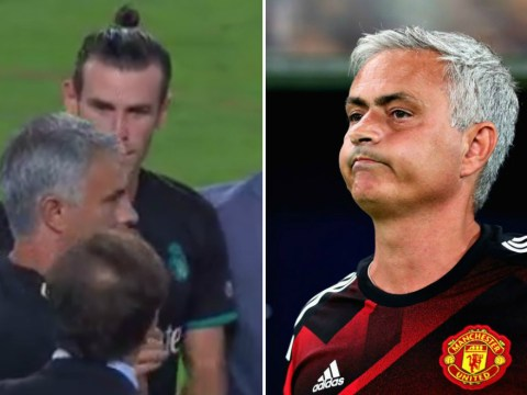 Jose Mourinho gives Gareth Bale the cold shoulder and hugs new Real Madrid favourite instead