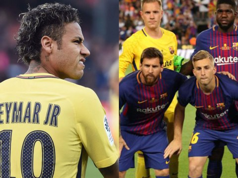 Barcelona trolled as Gerard Deulofeu starts in El Clasico while Neymar scores and assists on PSG debut