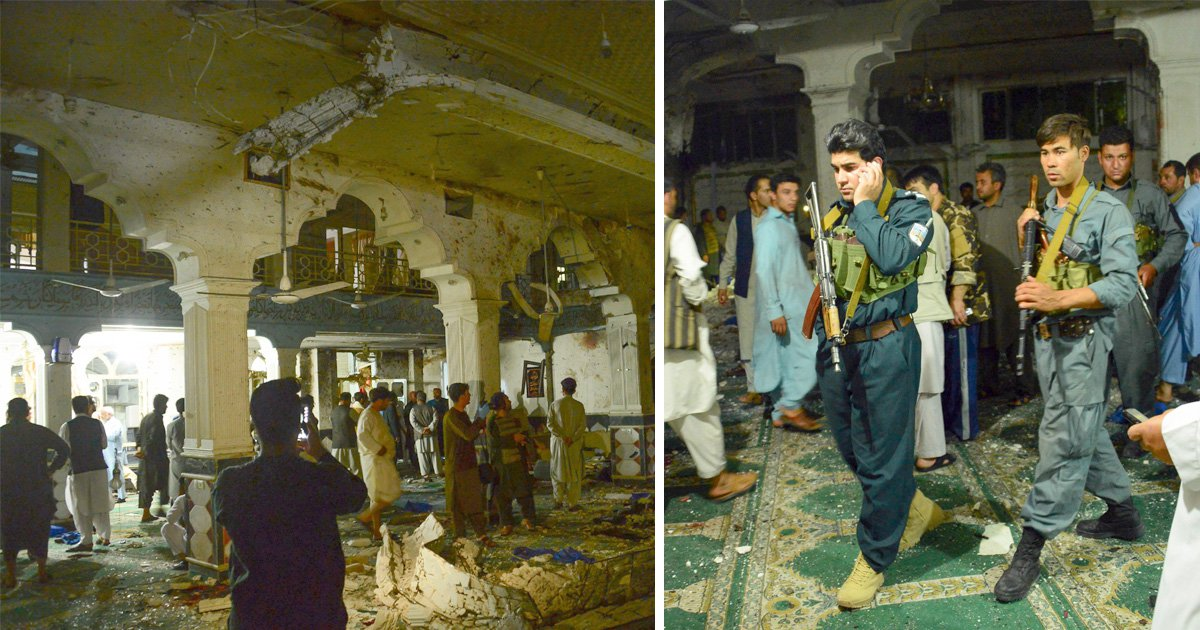 At least 29 killed in Afghanistan mosque explosion
