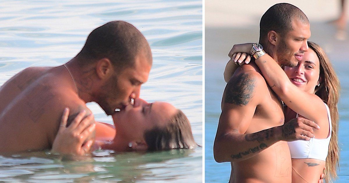 Jeremy Meeks and Chloe Green show no signs of slowing down and pack on the PDA on yet another luxurious trip