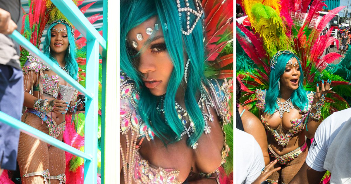 Rihanna's incredible Crop Over costume took just one day to make