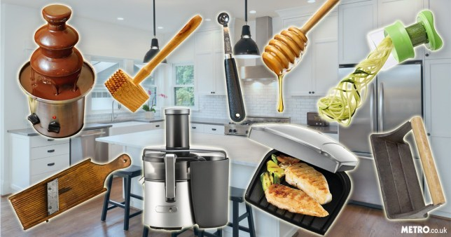 kitchen gadgets that you bought because you thought it was a great idea… and why you stopped using them