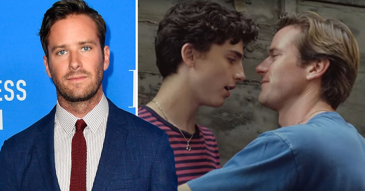 Call Me By Your Name's Armie Hammer isn't interested in an Oscar win: 'It's not my thing'