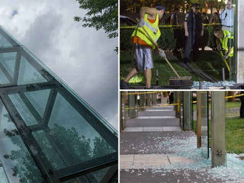 Boston's Holocaust memorial vandalised for second time in months