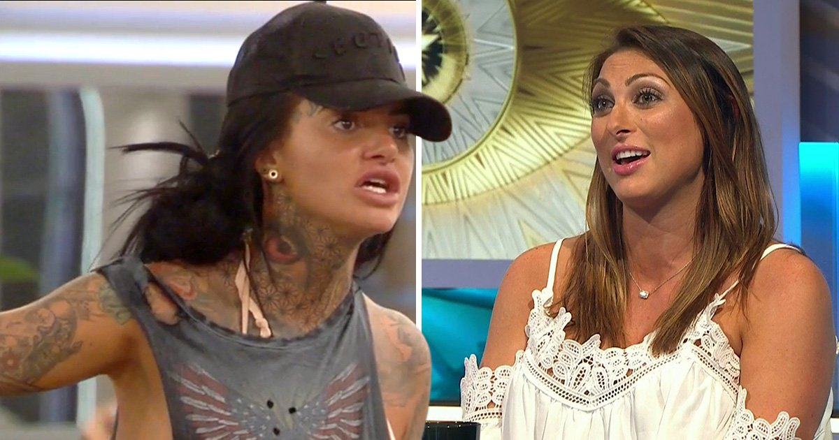 Luisa Zissman shockingly says CBB's Jemma Lucy needs a wash 'in acid' and claims it was a 'figure of speech'