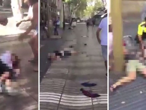 Videos show horrific aftermath of deadly Barcelona terror attack