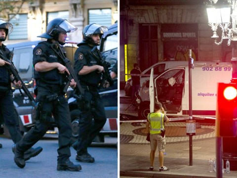 Driver of the van used for Barcelona terror attack is still on the run
