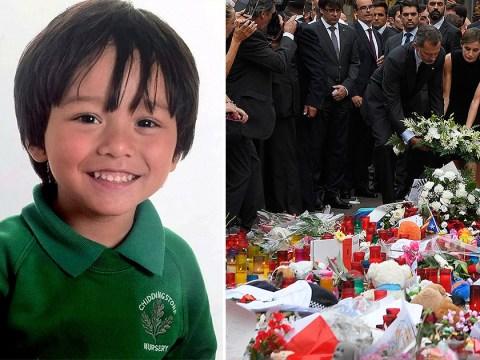 Missing British boy, 7, confirmed dead following Barcelona attacks