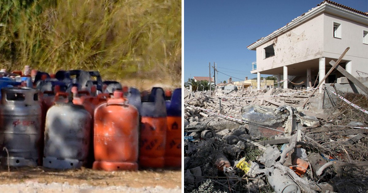 Barcelona terrorists hid 120 gas canisters at house before attacks