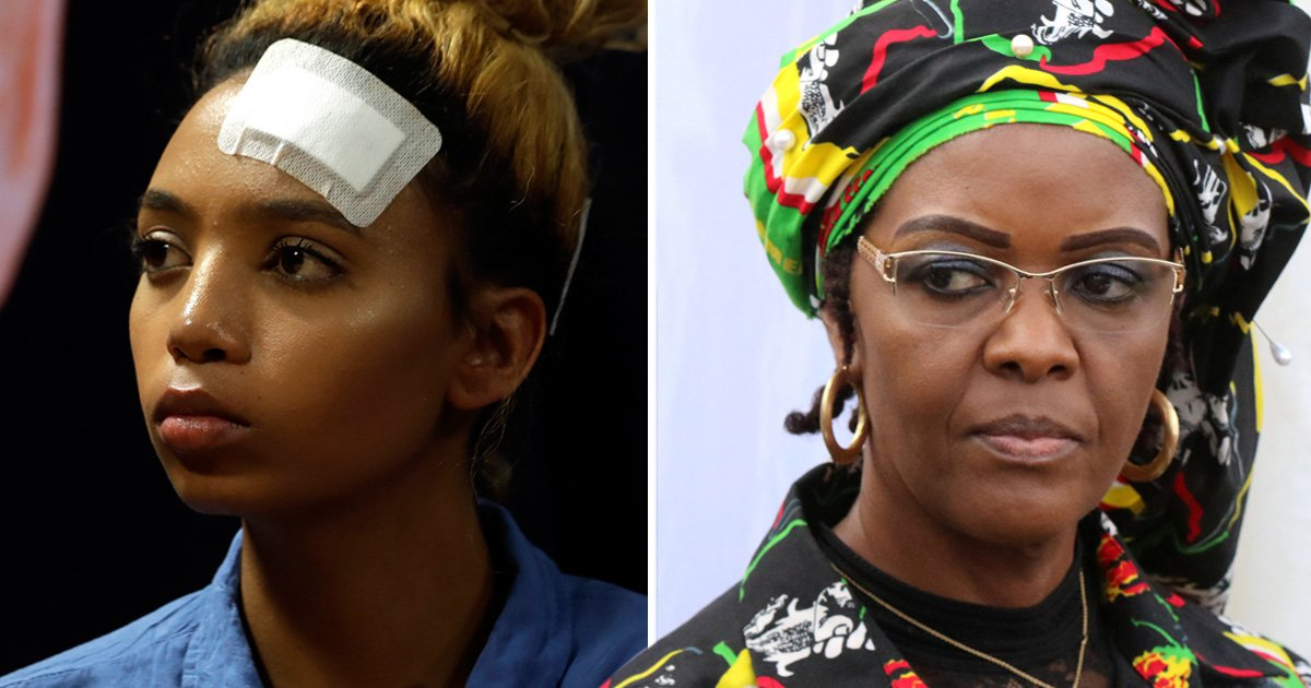 Model sues over decision to give Grace Mugabe diplomatic immunity