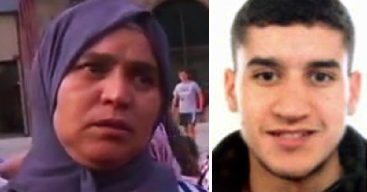 Mother of Barcelona terror fugitive begs her son to give himself up