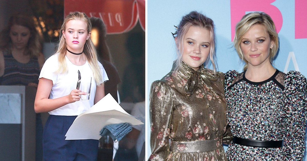 Reese Witherspoon's lookalike daughter Ava Phillippe spotted waiting on tables at LA pizza restaurant