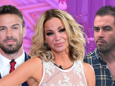 CBB's Sarah Harding's ex Aaron Lacey pictured for first time since Chad Johnson romance and he looks unhappy