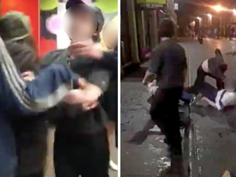 Man and teenage girl arrested following Bank Holiday fight in McDonald's