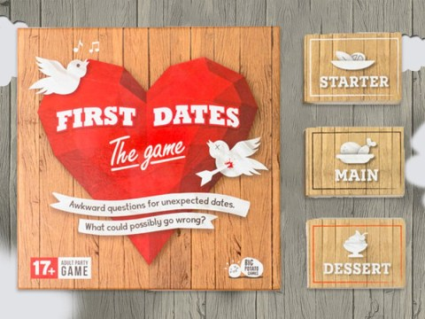 There's a First Dates card game that will really test your relationship