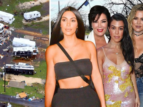 Kim Kardashian and family join celebrities helping Hurricane Harvey relief with $500,000 donation