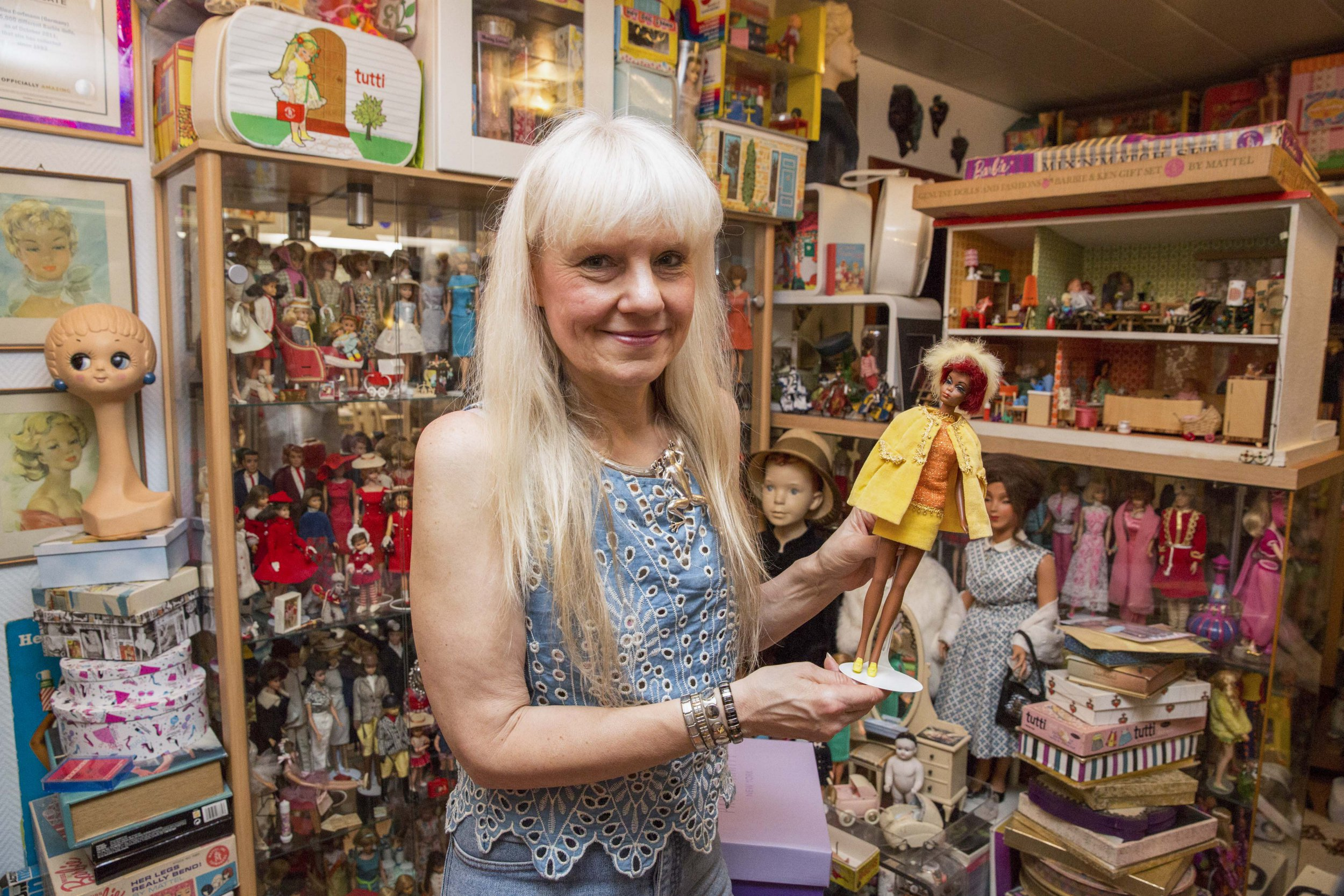 Meet the woman with the world's biggest Barbie collection