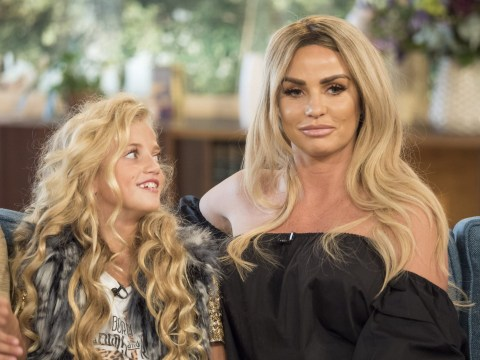 Katie Price says daughter Princess was 'ugly' but 'grew into her looks' following Pink's moving VMA's speech