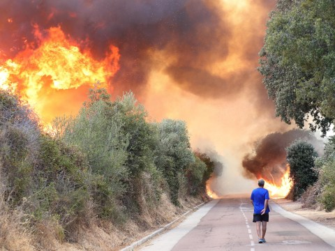Killer 'Lucifer' heatwave claims another victim as wildfires spread across Europe