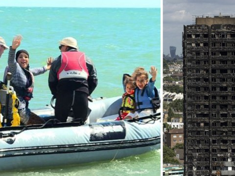 Grenfell Tower families taken to seaside to recover from trauma