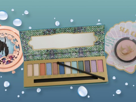 We can finally be part of The Little Mermaid's world with this makeup collection