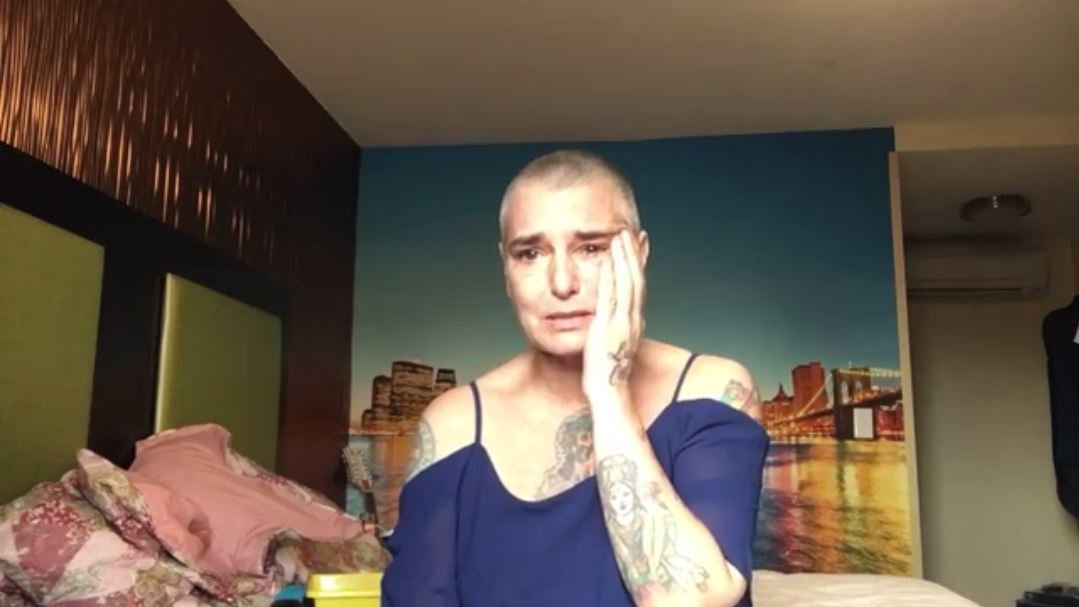 Sinead O'Connor says hysterectomy made her suicidal as she admits Facebook video was a cry for help