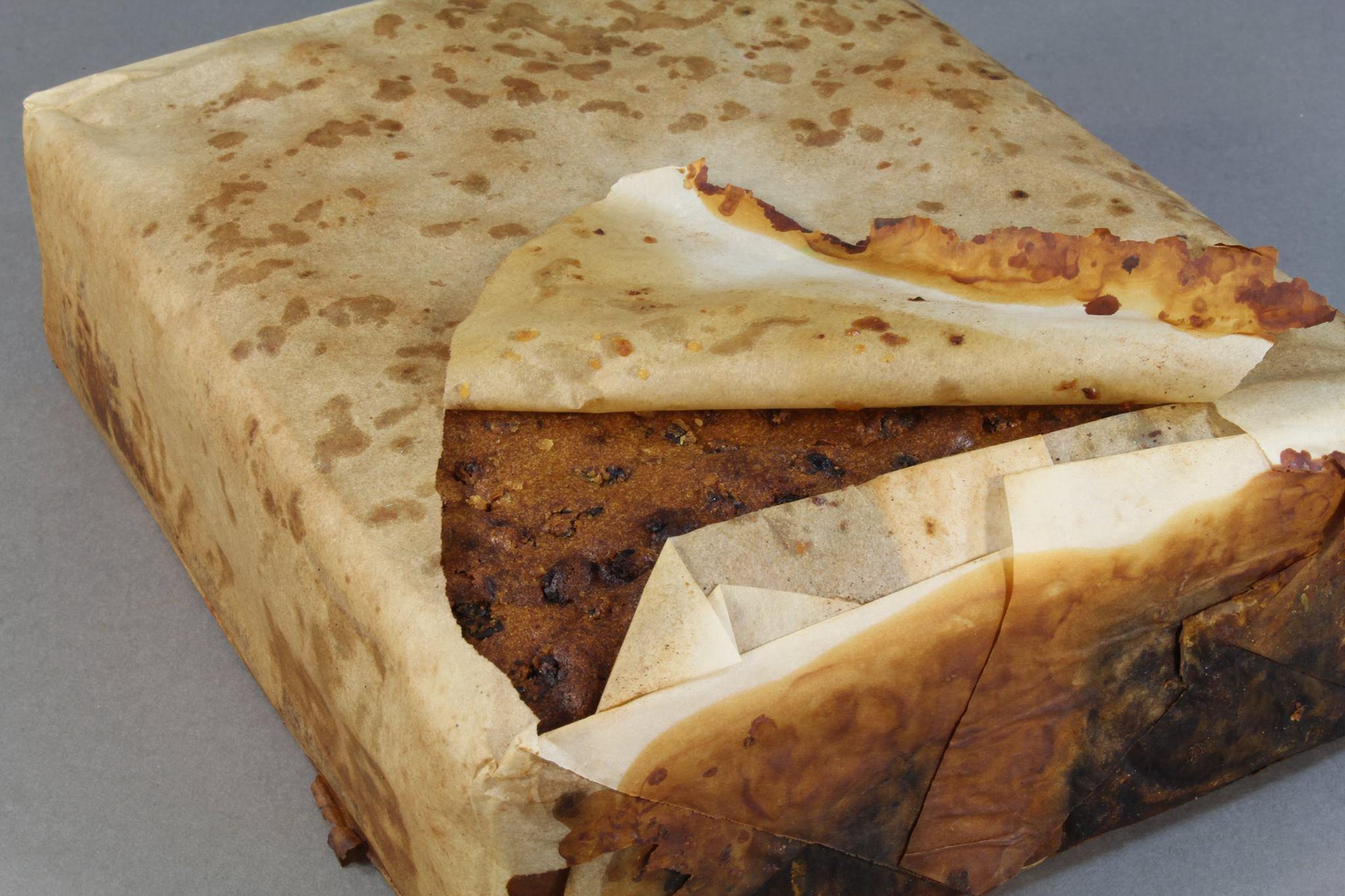 Explorer's 100-year-old fruitcake found in Antarctica in 'excellent condition'