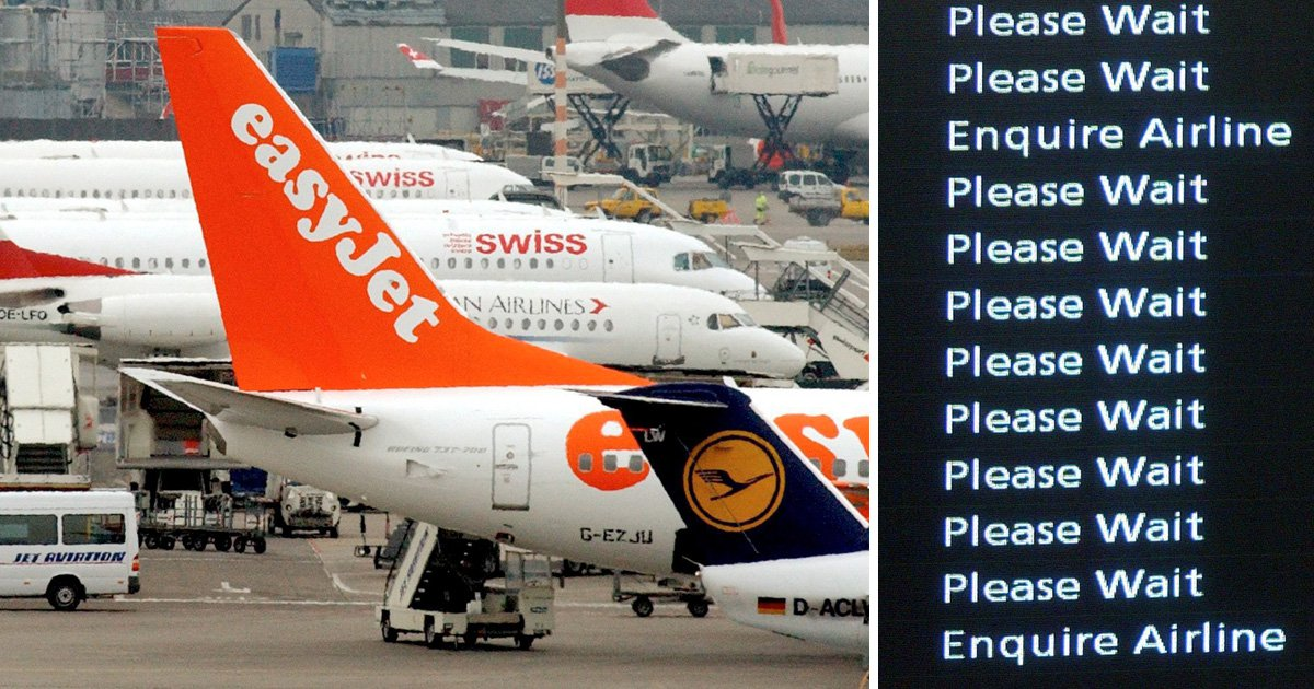 EasyJet named the worst airline for delayed flights | Metro News