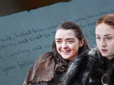 Game of Thrones: We can reveal exactly what that mysterious letter Arya Stark found says – and it's not good news for Sansa at all