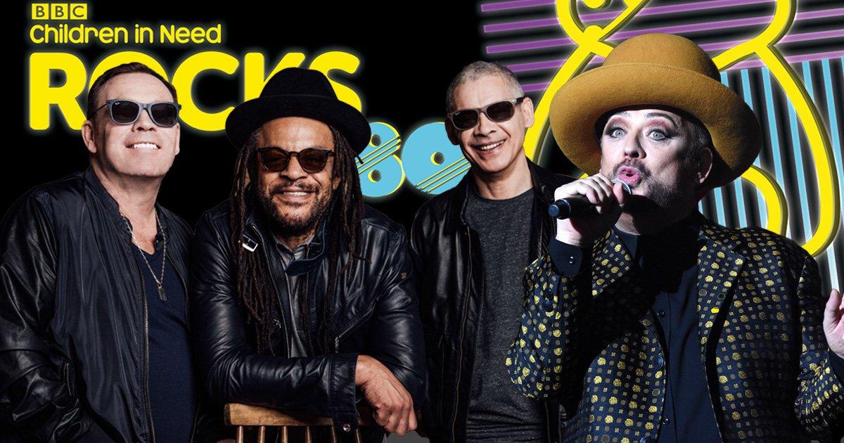 Boy George, Bananarama, Jason Donovan and UB40 unite for Children In Need Rocks The 80s charity gig