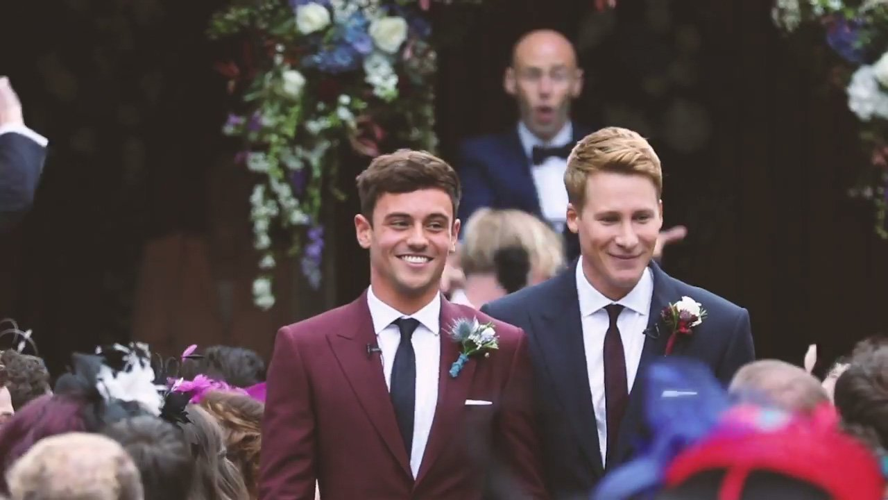 Tom Daley and Dustin Lance Black will donate proceeds from their wedding video to LGBT charities