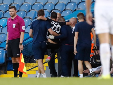 Chelsea player Lucas Piazon suffers broken leg while on loan at Fulham