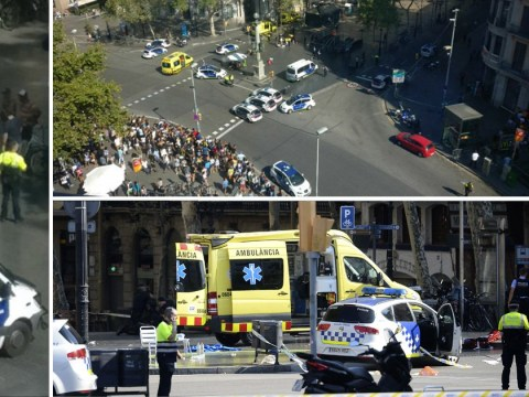 Armed men enter restaurant in Barcelona after van drives into crowds