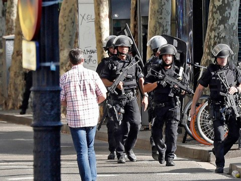 Barcelona attack suspects killed in shootout with police
