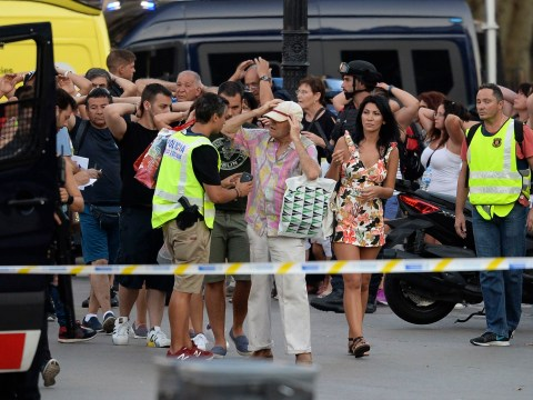 Tourists urged to stay inside and away from Las Ramblas after Barcelona terror attack