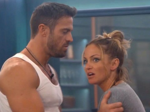 Sarah Harding says she's still 'very much together' with CBB boyfriend Chad Johnson