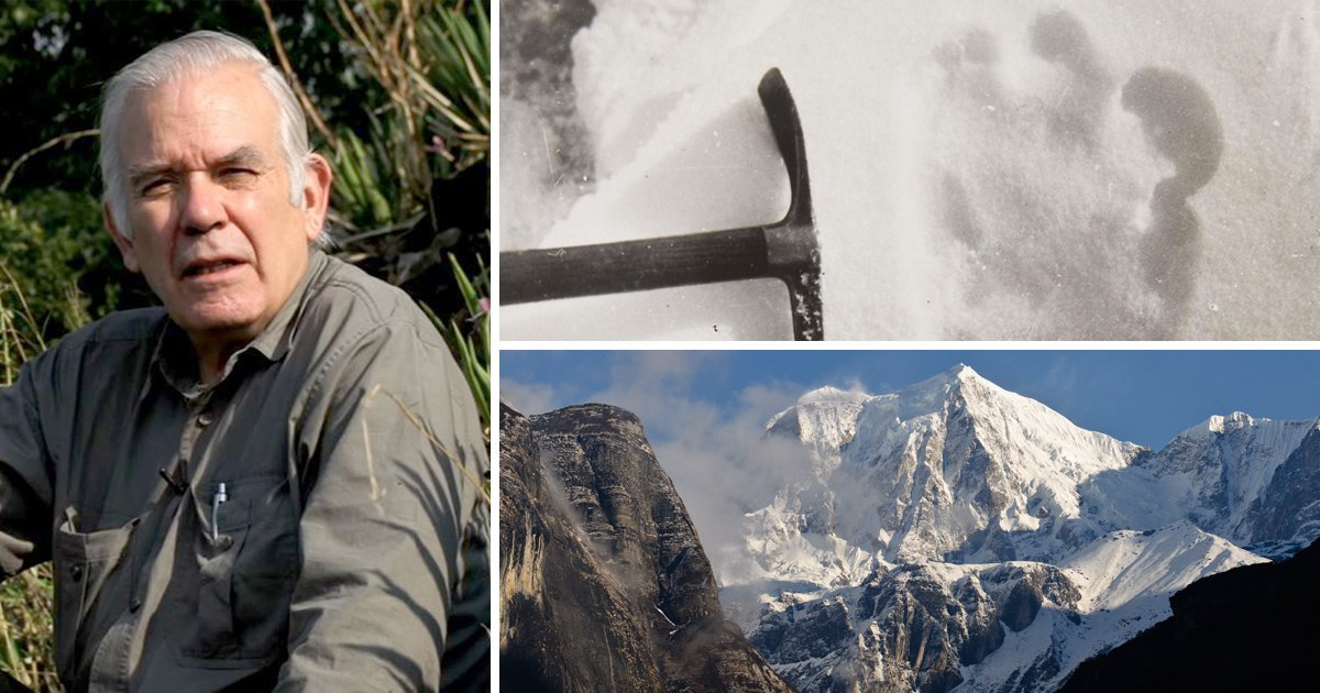 Author who searched for the Yeti for 60 years believes he's finally found it