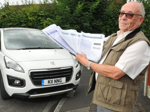 Peugeot driver keeps getting fined because his car gets mistaken for a Bentley