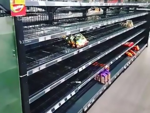 Supermarket removes all foreign groceries from shelves to make point about racism