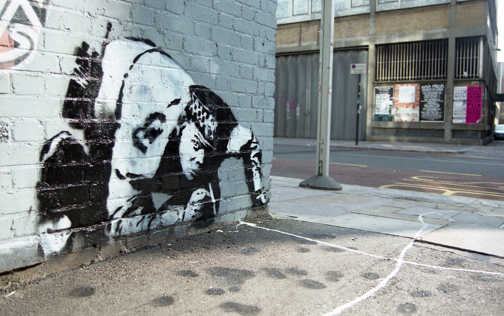Re-discovered Snorting Copper Banksy will be displayed in east London again
