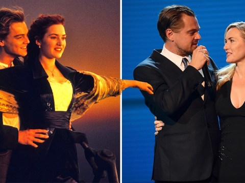 Kate Winslet and Leonardo DiCaprio quote Titanic lines to each other and it's just too much for us to handle right now