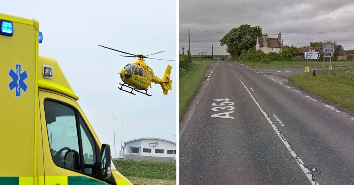 Girl, 3, dies in hospital after crash involving car and van