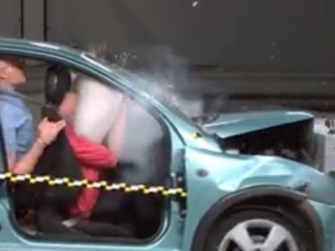 Shocking crash test footage shows why you really need to wear a seat belt